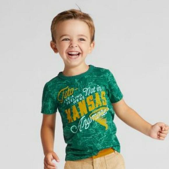 ec907662c6 Toto Wizard Oz Kansas Shirt Boys Genuine Kid